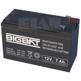 12v 7Ah accu 01207  7 ampere 12 volt accu