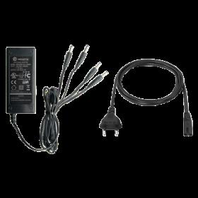 Hikvision DC12V5A 5 ampere voeding met 4 aansluitingen