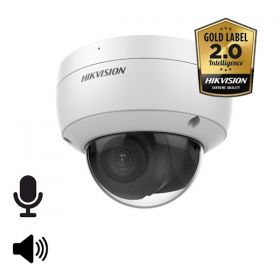 Hikvision Goldlabel 2.0 DS-2CD2146G2-ISU 4MP 2.8mm mircofoon en speaker 30m IR WDR Ultra Low Light audio/alarm