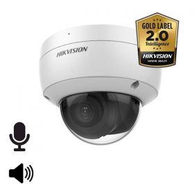Hikvision Goldlabel 2.0 DS-2CD2146G2-ISU 4MP 4mm mircofoon en speaker 30m IR WDR Ultra Low Light audio/alarm