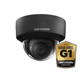 Hikvision Gold label DS-2CD2165FWD-I Zwart Gold Label 6MP 4mm dome 30m IR WDR Ultra Low Light