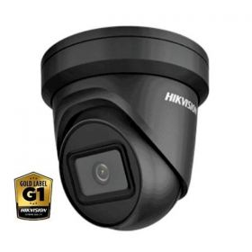 Hikvision DS-2CD2385FWD-I(B) 8MP 4K 2.8mm 30m IR WDR Zwart 2 line EXIR dome Low light Darkfighter