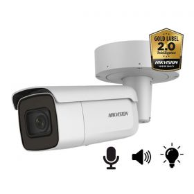 Hikvision AcuSense DS-2CD2686G2-IZSU/SL 8MP 2.8-12MM Bullet Varifocal Ultra Low Light mircofoon en speaker strobe light 50m IR WDR