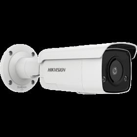 Hikvision DS-2CD2T46G2-ISU/SL Acusense Fixed Lens 4MP Mask Detection Bullet 2.8mm mircofoon en speaker 80m IR