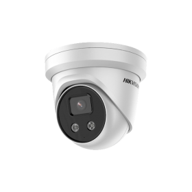 Hikvision DS-2CD3356G2-ISU/SL 5MP 2.8mm 3-line EXIR Turret Acusense microfoon flitser