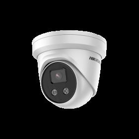 Hikvision DS-2CD3386G2-IS 8MP 4mm 3-line EXIR Turret Acusense Audio alarm I/O