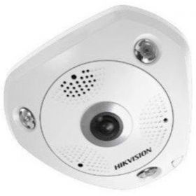 Hikvision DS-2CD6365G0E-IS 6MP 1.27MM (B) IR Indoor Fisheye Camera Audio
