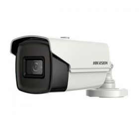 Hikvision DS-2CE16H0T-AIT3ZF 5MP 2.7-13mm motorzoom 40m IR Varifocal Turbo bullet gemotoriseerde lens slagvast