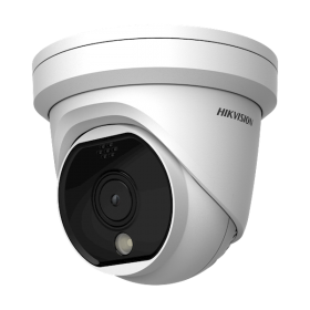Hikvision DS-2TD1117-3/PA 3.1mm DeepInView Thermisch Single Lens Turret dome