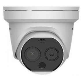 Hikvision DS-2TD1217-3/PA Thermisch bi-spectrum dome 3.1mm Strobe/Audio