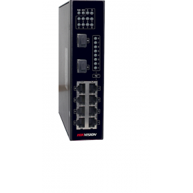 Hikvision DS-3T0310P industrial PoE switch 8 ports
