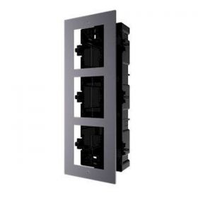 Hikvision DS-KD-AFC3 modulaire intercom inbouwframe 3 hoog 3 modules