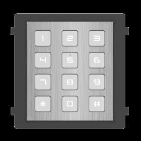 Hikvision DS-KD-KP/S modulaire intercom keypad RVS