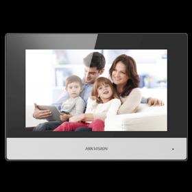 Hikvision DS-KH6320-WTE2 2-Draads Modulaire intercom 7-inch binnenpost
