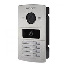 Hikvision DS-KV8402-IM 4 beldrukkers IR verlichting buitenpost