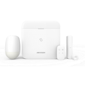 Hikvision DS-PWA64-KIT-WE AxPro kit centrale met GPRS WiFi LAN PIR Magneetcontact 64 zones  Afstandsbediening
