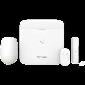Hikvision DS-PWA96-KIT-WE AxPro start kit centrale met 4G PIR Magneetcontact LAN Wifi afstandsbediening
