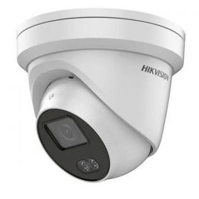Hikvision DS-2CD2347G1-LU 2.8MM ColorVu 4MP IP Turret  120dB WDR Audio