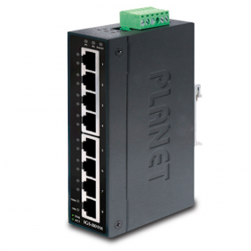 Planet IGS-801M 8-Port 1000Mbps Managed Industrial Ethernet Switch IP30 Slim type