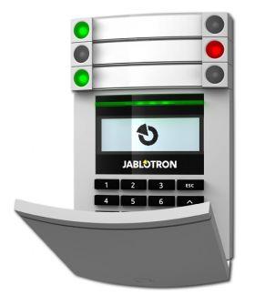 Jablotron JA-114E Bus toegangsmodule met LCD RFID en toetsen