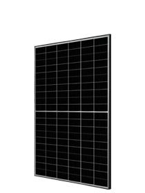 JA Solar 345W Mono MBB PERC Half-Cell (zwart frame / met lange kabel)