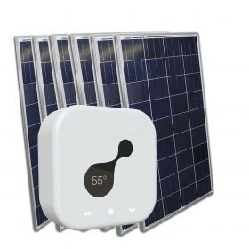 NECTARSUN KIT 6 panels poly 270wp Solar verwarming