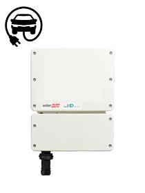 SolarEdge SE5000H / HD-Wave APP met E-Ladecontroller