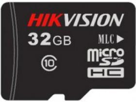 Hikvision DS-UTF32GI-H1 SD Card 32GB (microSDHC) klasse 10 25MB/s lezen en 20MB/s schrijven