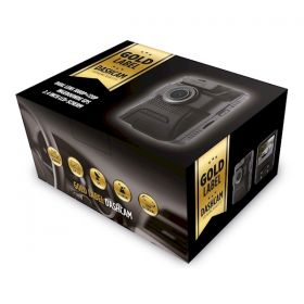 Gold Label Dashcam dual lens met GPS