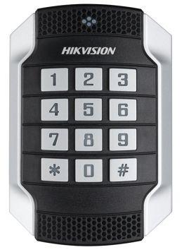 Hikvision DS-K1104MK Vandaalbestendige kaartlezer luxe met codetoetsen MiFare