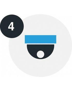 Lifetime camera licentie – starterpak 4 licenties Network Optix