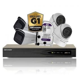 Hikvision Complete Gold Label Full-HD varifocale set