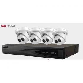 4MP gold Label Kit, 4 camera's en NVR