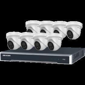 Hikvision Gold Label 2.0 Kit, 8 camera's met 8-kanaals NVR