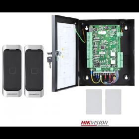 Hikvision Toegangscontrole kit voor 2 deuren