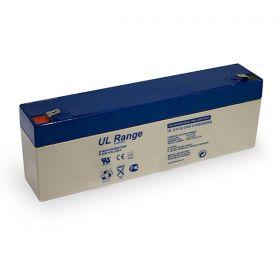 UL-2.6-12 12V/2.6Ah Rechargeable battery geschikt JA-82k, JA-63K, en JA-101 centrales
