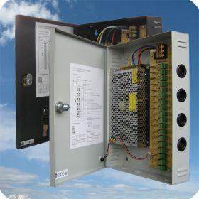 Hikvision VP-PSU2118R 18 kanaals voedingsunit 12V DC /10 A met Auto-reset functie
