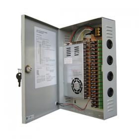 Hikvision VP-PSU2128 18 Kanaals voedingsunit 12V DC/ 24 A