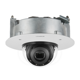 Hanwha Techwin XND-6081RF 2MP IR inbouw Dome Varifocal