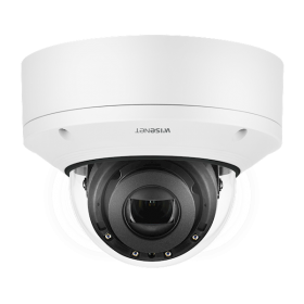 Hanwha Techwin XND-6081V 2MP Indoor Vandal Dome Varifocal