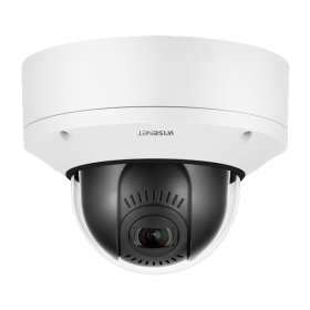 Hanwha Techwin XND-6081VZ 2MP Indoor PTRZ Dome Varifocal