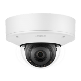 Hanwha Techwin XNV-8081R 5MP IR Outdoor Vandal Dome Varifocal