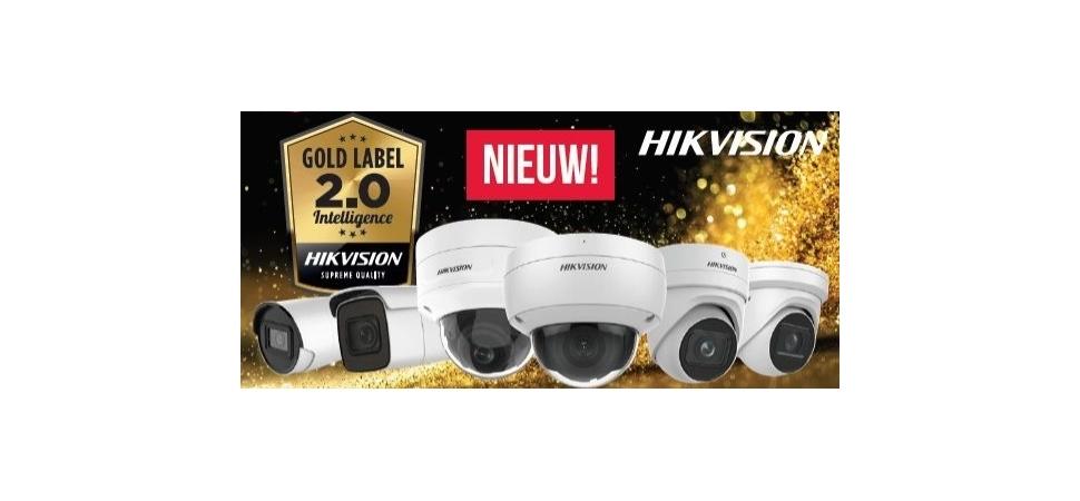 Nieuw Hikvision Gold Label 2.0